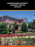 2018 - 2019, Gardner-Webb University Academic Catalog