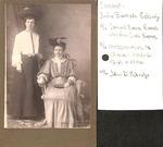 Photograph - Judie Bostick and Dovie Preston 1904 by Uknown