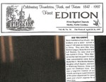 April 20, 1997 - Bostic Family First Edition by First Baptist Church Shelby