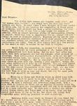 Correspondence - Attie Bostick - Jan 22, 1934 by Attie T. Bostick