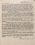 Correspondence - Attie Bostick - April 1, 1933 - Mrs. Packard by Attie T. Bostick