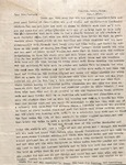 Correspondence - Attie Bostick - Feb 3, 1926 - Mrs. Packard by Attie T. Bostick
