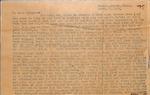 Correspondence - Attie Bostick - March 23, 1933 by Attie T. Bostick