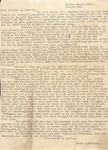 Correspondence - Attie Bostick Feb. 23, 1934 - Wade Bostick by Attie T. Bostick and Wade D. Bostick