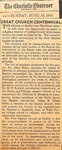 Newspaper - June 15 1947 - The Charlotte Observer - 100th Anniversary