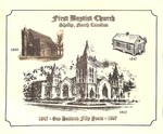 Bulletin - 1997 - 150th Anniversary by First Baptist Church Shelby