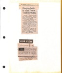 News Clippings - June 18 and 20, 1997 - The Shelby Star - 150th
