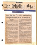 Newspaper- June 19 1997- The Shelby Star - 150th Anniversary