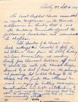 1928 Church Conference Notes