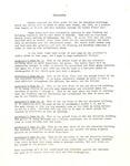 1973 - Sanctuary Renovations Memorandum by First Baptist Church Shelby