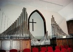 Photo -1973 - Sanctuary- Organ by Unknown