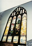 Photo -1973 - Sanctuary- Stained Glass by Unknown