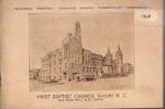1928 Church Renovations