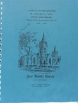 History of the Deaf Department at First Baptist Church Shelby, North Carolina, Twenty-Fifth Anniversary edition 1969-1994
