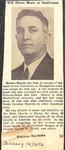 Magazine- Biblical Recorder- Jan 14 1956 - Horace Easom