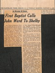 Newspaper - The Cleveland Times- Jan 4 1966 - John Ward by The Cleveland Times
