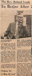 Newspaper- The Cleveland Times - Sept 27 1973 - Roland Leath