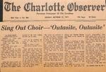 Newspaper - The Charlotte Observer - Oct 17 1971 - Van Ramsey