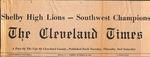 Newspaper - The Cleveland Times - Nov 18 1969 - Van Ramsey