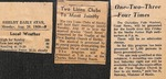 Newspaper - The Shelby Daily Star - Aug 26 1968 - Van Ramsey by The Shelby Daily Star