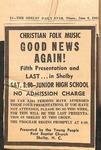 Newspaper - The Shelby Daily Star - June 6 1968 - Van Ramsey