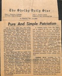 Newspaper - The Shelby Daily Star - Nov 18 1969 - Van Ramsey