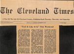 Newspaper- The Cleveland Times - Nov 15 1969 - Van Ramsey by The Shelby Daily Star