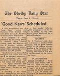 Newspaper- The Shelby Daily Star - June 6 1968 - Van Ramsey