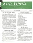 Music Bulletin December 1970 by First Baptist Church Shelby