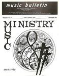 Music Bulletin September 1969