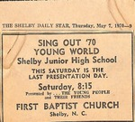 The Shelby Daily Star May 7, 1970