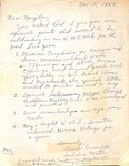 Correspondence- Laura Cornwell to Mary Lou - March 15, 1968 by Laura Cornwell