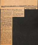News Clipping - The Cleveland Times - April 3 1964 by The Cleveland Times