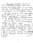 Notes - Mrs. John Wacaster