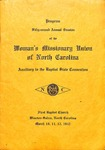 WMU 1942 Program Baptist State Convention by Women's Missionary Union