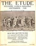 Volume 36, Number 09 (September 1918) by James Francis Cooke