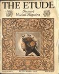 Volume 37, Number 09 (September 1919) by James Francis Cooke