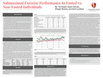 Submaximal Exercise Performance In Fasted vs. Non-Fasted Individuals