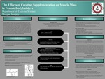 The Effects of Creatine Supplementation on Muscle Mass in Female Bodybuilders
