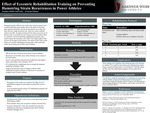 Effect of Eccentric Rehabilitation Training on Preventing Hamstring Strain Recurrences in Power Athletes