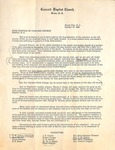 Correspondence - 1949, October 31 - Concord Baptist Bostic Family Letter by Unknown