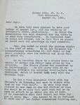 Correspondence - 1951, August 26 - Miles & Ellen Thompson by Ellen Thompson
