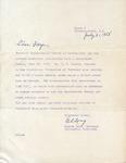 Correspondence - 1958, July 21 - Gilmer Long by Gilmer Long