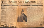 News Clipping - 1951, July 26 - Brittain Church Observed 183rd Anniversary Founding Sunday