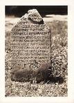 Photograph - Brittain Presbyterian Church - Lieut. McCullough Gravestone by Unknown