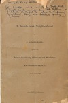 Publication - A Scotch-Irish Neighborhood by F. B. McDowell