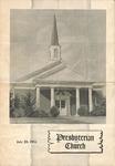 Worship Bulletin - 1951, July 22 - Brittain Presbyterian Church by Unknown