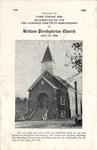 Worship Bulletin - 1958, July 27 - Brittain Presbyterian Church by Unknown