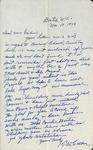 Correspondence - 1949, November 19 - T. W. Calton by T. W. Calton