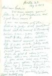 Correspondence - 1953, August 6 - T. W. Calton by T. W. Calton